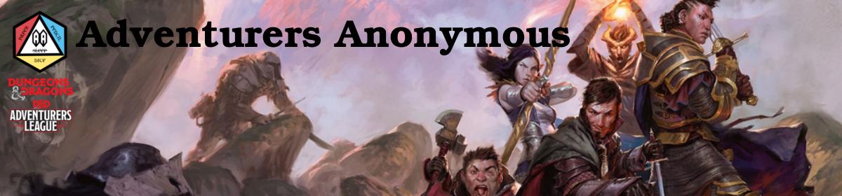 Adventurers Anonymous